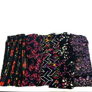 LuLaRoe tall & curvy TC leggings BUNDLE / LOT